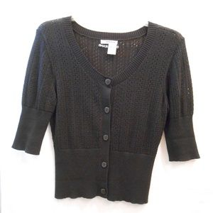 Black DKNY Large Sweater